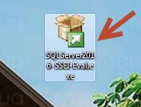 Веб установщик MS SQL server 2016