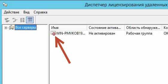 Лицензирование сервера терминалов на Windows Server 2012